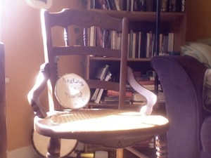 Healing is Hard (chair pic)